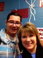 One of my favorite students Ricardo Torres