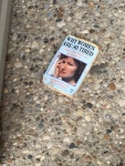 This was lying on the ground next to the trash can outside our apartment.  This is a book that I would turn to the last chapter and read quickly.