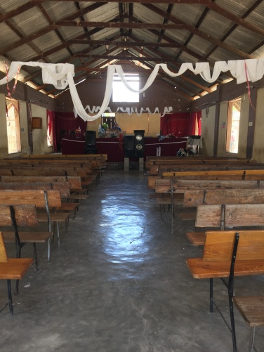 A Baptist church in Haiti