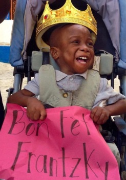 One of the many precious faces of Haiti